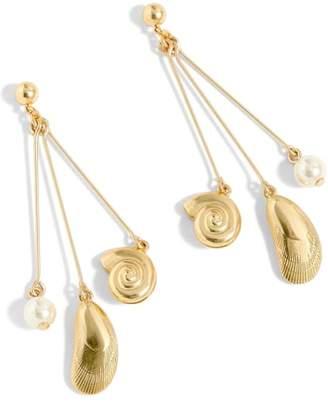 J.Crew J. CREW Seashell Drop Earrings