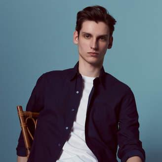 Sandro Cotton shirt in indigo