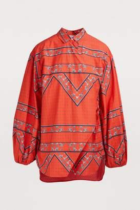 Ganni Faulkner blouse