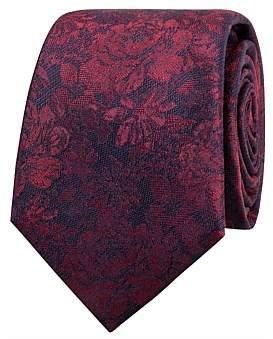 Geoffrey Beene Mono Floral Tie