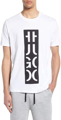 HUGO Darlon Logo Relaxed Fit T-Shirt