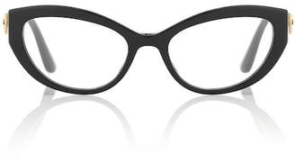 Dolce & Gabbana Cat-eye acetate glasses