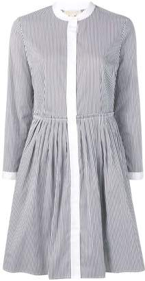 MICHAEL Michael Kors striped flared dress