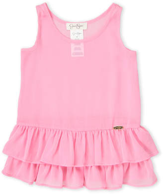 Jessica Simpson Toddler Girls) Sheer Ruffle Cover-Up Tank