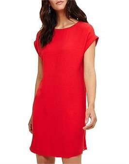 Phase Eight Pia Pleat Short Sleeve Dress