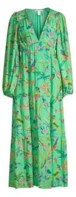 DAY Birger et Mikkelsen Banjanan Laura Long Sleeve Blouse Maxi Dress