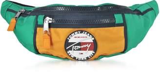 The Heritage Aqua Fabric Belt Bag
