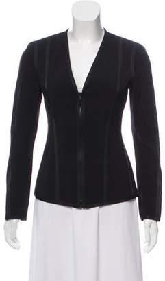 Donna Karan Tailored Collarless Jacket