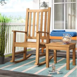 Beachcrest Home Murtagh Rocking Chair