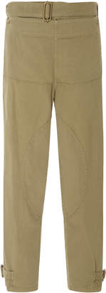 J.W.Anderson Belted Layered Cotton-Twill Pants