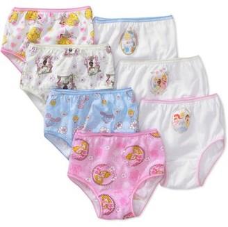 Disney Princess Disney - Toddler Girls' Princess Favorite Characters Underwear, 7-Pack