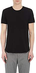 Barneys New York Men's Cotton-Blend Crewneck T-Shirt - Black