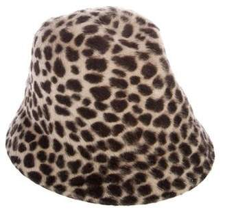 Philip Treacy Fur Bucket Hat