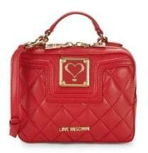 Love Moschino Quilted Mini Top Handle Bag