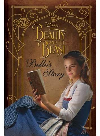 Belle's Story - (Disney Beauty and the Beast) by Rachael Upton (Hardcover)