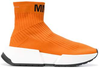 MM6 MAISON MARGIELA hi-top trainers