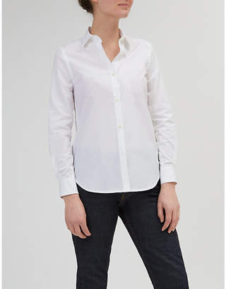 Community Clothing Slim-fit cotton-poplin shirt