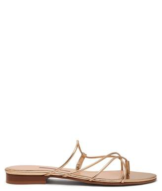 Emme Parsons Chris Strappy Leather Sandals - Womens - Gold