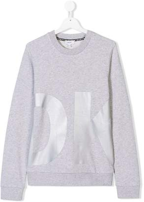 DKNY TEEN logo print sweatshirt