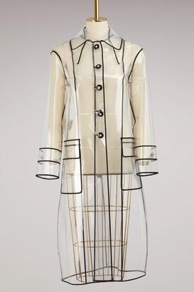 Miu Miu Transparent raincoat