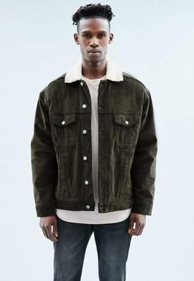 b0e77582d Cord Jacket Borg Lining - ShopStyle UK