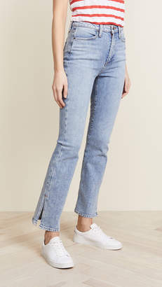 Alice + Olivia AO.LA by High Rise Baby Boot Jeans