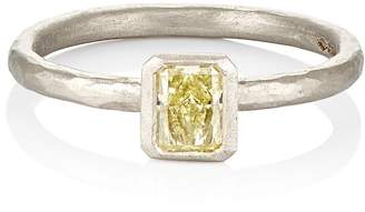 Malcolm Betts Women's Yellow Diamond Ring