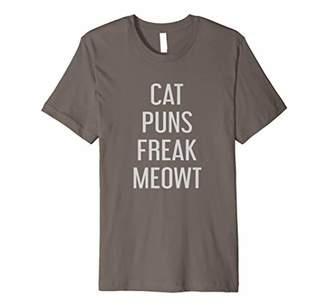 Cat Puns Freak Meowt Shirt Funny Cat Pun Quote Tee Shirt