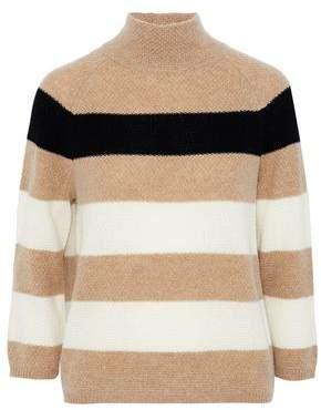 Max Mara Striped Cashmere Sweater