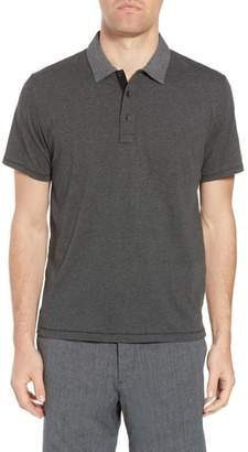 Rag & Bone Stripe Cotton Polo Shirt