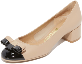 Salvatore Ferragamo Elea Pumps $525 thestylecure.com