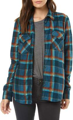 O'Neill Zuma Plaid Fleece Flannel Shirt