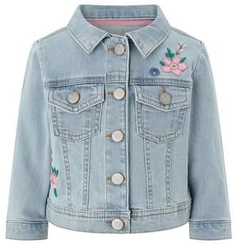 Monsoon Blue Baby Girls' 'Ellie' Denim Jacket