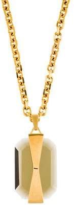 Alexander McQueen Crystal Pendant Necklace