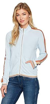 Stateside Women's Natural Heavy Jersey Track Jacket