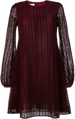 Giamba laser cut layer dress