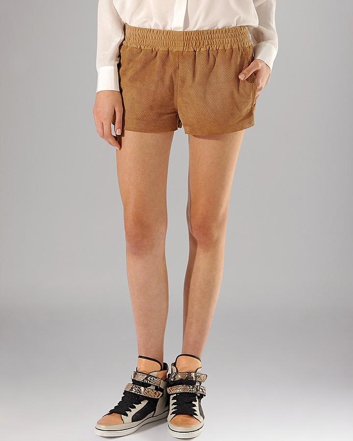 Maje Shorts - Astray Leather