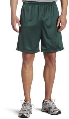 MJ Soffe Soffe Men's Nylon Mini-Mesh Fitness Short