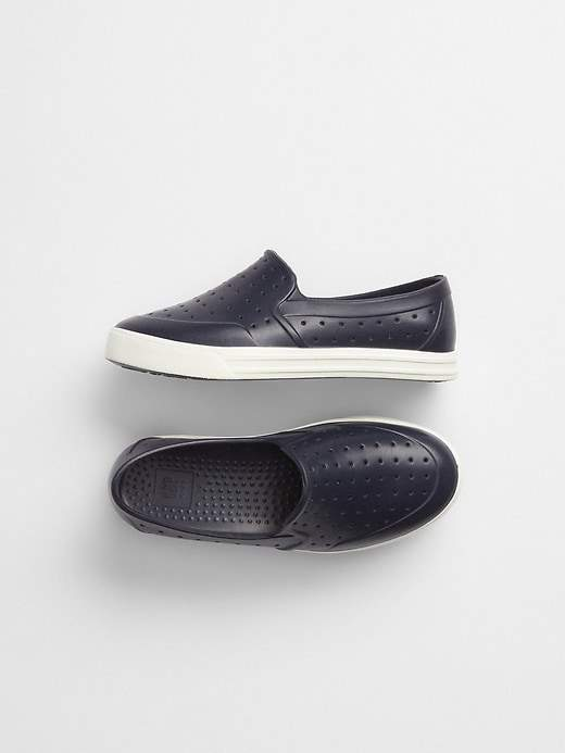 Rubber Slip-On Shoes
