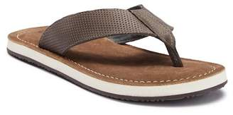 Crevo Morelos Leather Flip Flop