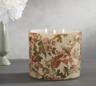 Pottery Barn Homescent Candle Pot - French Peony