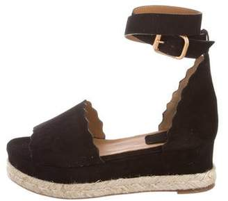 Chloé 2017 Lauren Espadrille Wedges w/ Tags