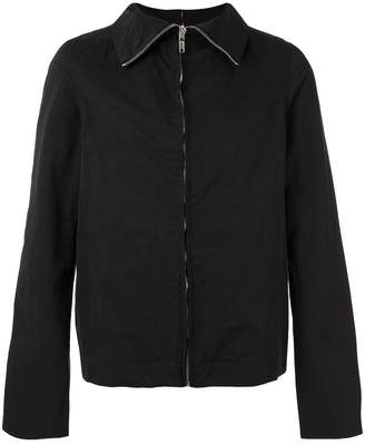 Rick Owens zipped lightweight jacket