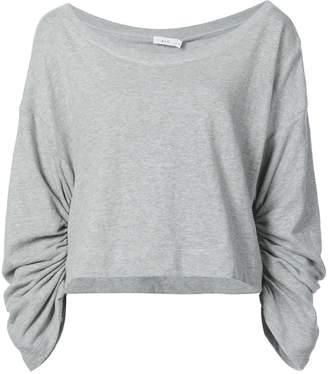 A.L.C. ruched sleeve sweatshirt