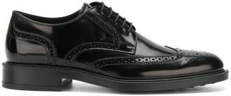 Tod's lace up derby shoes