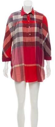 Burberry Exploded Check Tunic