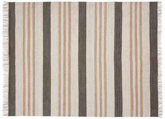 Pottery Barn Stinson Synthetic Indoor/Outdoor Rug - Gray Multi