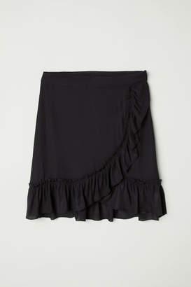 H&M Chiffon Skirt - Black
