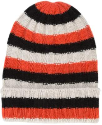 The Elder Statesman striped beanie