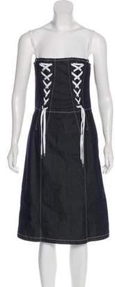 Dolce & Gabbana Denim Mini Dress